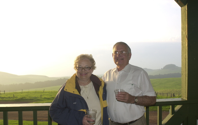 Joe and Cheryl at Kahua Ranch