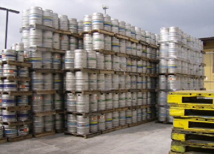 Could one person drink all these kegs?
